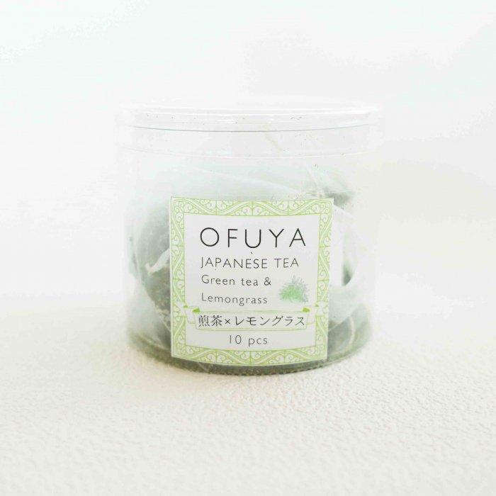 無添加静岡産ハーブティー『煎茶×レモングラス』 Tea Bag7pc入