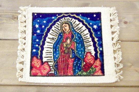 グアダルーペ メキシコ マリア イラスト デザイン コットン コースター