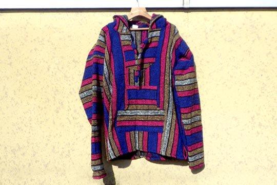 メキシコ バハ Baja メキシカン ラグ フード パーカー シャツ