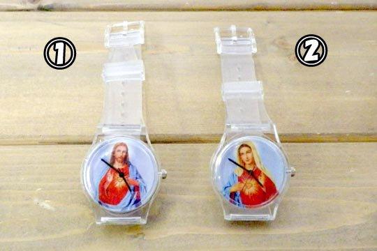 マリア ジーザス キリスト ファッション ウォッチ 腕時計