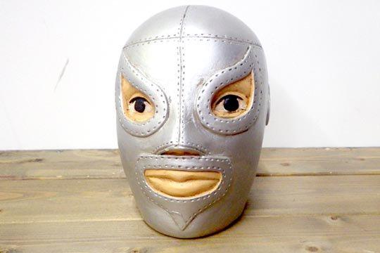 メキシコ プロレス ルチャリブレ マスク ビンテージ バンク 貯金箱 エル・サント