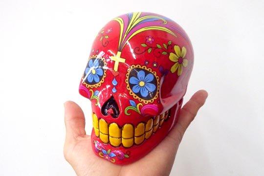 メキシカンスカル カラベラ 骸骨 頭蓋骨...