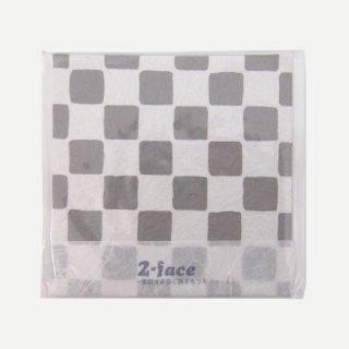 【完全オリジナル】錫と五箇山和紙テクスチャが融合したコースター 2-face (Gray)
