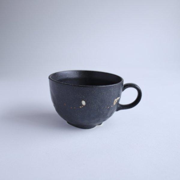 黒伊賀 スープカップ