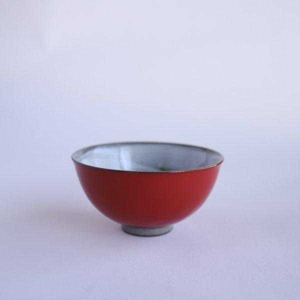 赤吹き 飯茶碗