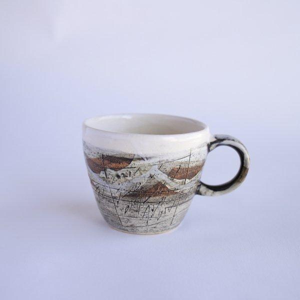 白けずりマグカップ
