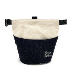 FINGER JOINT「Chalk Bucket」 フィンガージョイント チョークバケット パラフィン帆布×岡山デニム メタルバックル