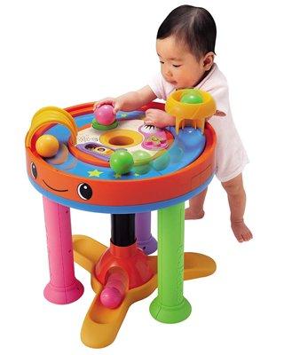 【中古】ピープル 熱中知育プレミアム 知育玩具 ウォーカー キッズデスク