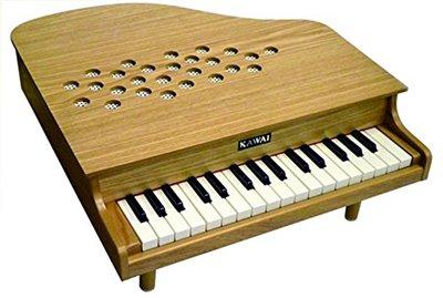 【延長注文】カワイ ミニピアノ 木目 P-32
