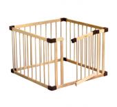 木製ベビーサークル ジョイントプレイペン ドアパネル付き ファルスカ