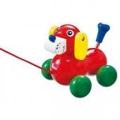 【中古】いぬのヴァルディ ニック社 木のおもちゃ