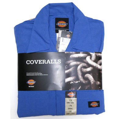 Dickies Coverall 3399(BLUE)/ディッキーズ 半袖 つなぎ