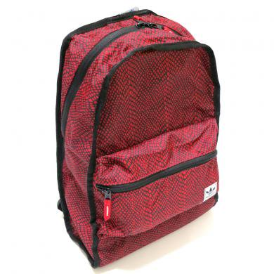 adidas originals REVERSIBLE Backpack(BLACK/RED) / アディダス リバーシブルバックパック