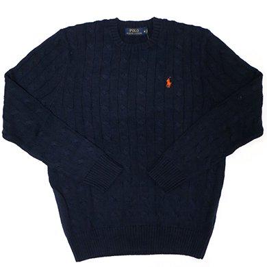 Polo Ralph Lauren CLASSICS Sweater (Hunter Navy)/ポロ ラルフローレン ケーブルニット セーター