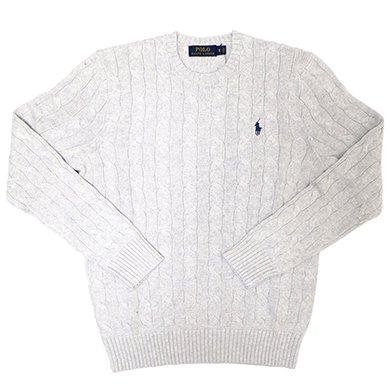 Polo Ralph Lauren CLASSICS Sweater (Grey)/ポロ ラルフローレン ケーブルニット セーター