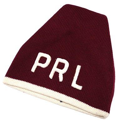 Polo Ralph Lauren PRL KnitCap(Maroon) / ポロ ラルフローレン ニットキャップ