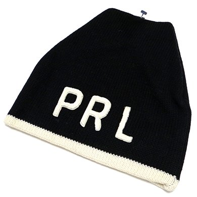 Polo Ralph Lauren PRL KnitCap(Black) / ポロ ラルフローレン ニットキャップ