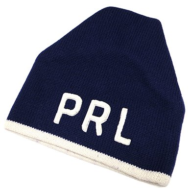 Polo Ralph Lauren PRL KnitCap(Navy) / ポロ ラルフローレン ニットキャップ