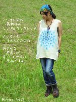 <img class='new_mark_img1' src='//img.shop-pro.jp/img/new/icons15.gif' style='border:none;display:inline;margin:0px;padding:0px;width:auto;' />ハンサム染め 最新作タンクトップ☆