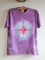 <img class='new_mark_img1' src='//img.shop-pro.jp/img/new/icons15.gif' style='border:none;display:inline;margin:0px;padding:0px;width:auto;' />Hippies Dye☆Tシャツ Mサイズ 杢系パープル☆