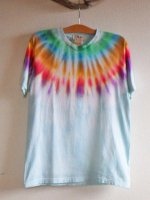 <img class='new_mark_img1' src='//img.shop-pro.jp/img/new/icons15.gif' style='border:none;display:inline;margin:0px;padding:0px;width:auto;' />Hippies Dye☆Tシャツ Mサイズ ネイティブ風タイダイ☆