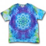 <img class='new_mark_img1' src='https://img.shop-pro.jp/img/new/icons15.gif' style='border:none;display:inline;margin:0px;padding:0px;width:auto;' />Hippies Dye☆Tシャツ XXLサイズ カラフルなタイダイに美しい曼荼羅模様!