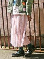 総柄ロングギャザースカート【全2色】