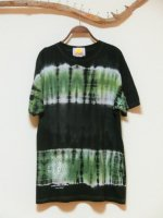 <img class='new_mark_img1' src='https://img.shop-pro.jp/img/new/icons15.gif' style='border:none;display:inline;margin:0px;padding:0px;width:auto;' />Hippies Dye☆Tシャツ XLサイズ ビッグボーダーダイ