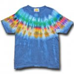 <img class='new_mark_img1' src='https://img.shop-pro.jp/img/new/icons15.gif' style='border:none;display:inline;margin:0px;padding:0px;width:auto;' />Hippies Dye☆Tシャツ Mサイズ ネイティブ風タイダイ☆ブルー☆