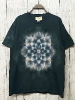 <img class='new_mark_img1' src='https://img.shop-pro.jp/img/new/icons15.gif' style='border:none;display:inline;margin:0px;padding:0px;width:auto;' />Hippies Dye☆Tシャツ Mサイズ タイダイ曼荼羅☆ 淡墨桜 ブラック