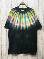<img class='new_mark_img1' src='https://img.shop-pro.jp/img/new/icons15.gif' style='border:none;display:inline;margin:0px;padding:0px;width:auto;' />Hippies Dye☆Tシャツ XLサイズ ネイティブダイ!! ブラック☆