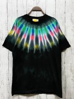 <img class='new_mark_img1' src='https://img.shop-pro.jp/img/new/icons15.gif' style='border:none;display:inline;margin:0px;padding:0px;width:auto;' />Hippies Dye☆Tシャツ Lサイズ ネイティブダイ!! ブラック☆