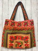 モン族 刺繍ショルダーバッグ