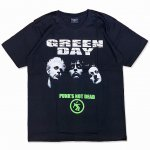 <img class='new_mark_img1' src='https://img.shop-pro.jp/img/new/icons15.gif' style='border:none;display:inline;margin:0px;padding:0px;width:auto;' />グリーンデイ GREEN DAY バンド Tシャツ ブラック