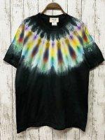 <img class='new_mark_img1' src='https://img.shop-pro.jp/img/new/icons15.gif' style='border:none;display:inline;margin:0px;padding:0px;width:auto;' />タイダイ染め  Tシャツ Lサイズ ネイティブダイ ブラック  Hippies Dye