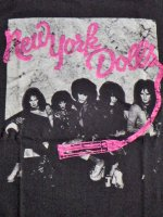 <img class='new_mark_img1' src='//img.shop-pro.jp/img/new/icons15.gif' style='border:none;display:inline;margin:0px;padding:0px;width:auto;' />Yew York Dolls バンドTシャツ