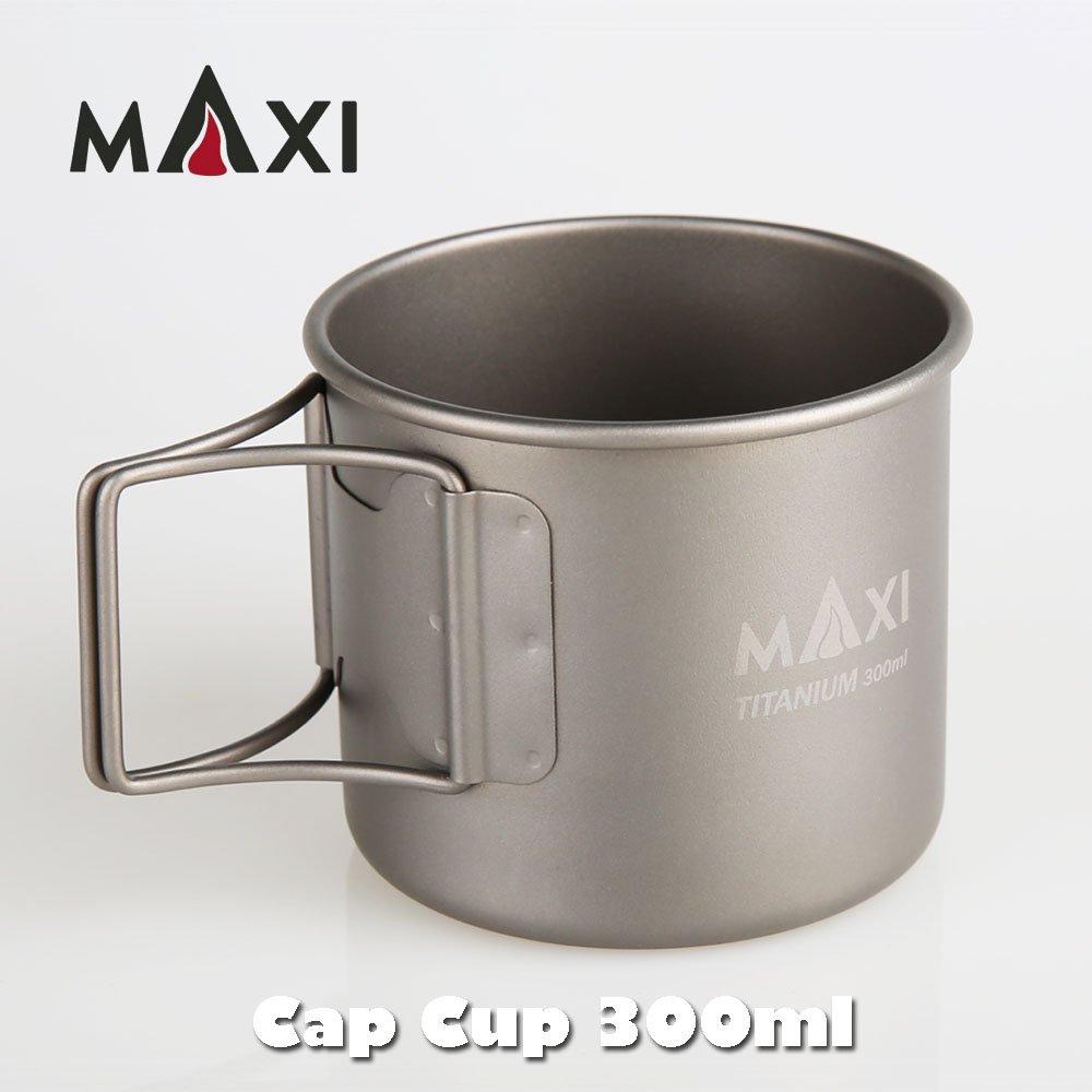 MAXI マキシ Cap Cup キャップカップ チタン カップ 300ml コップ マグカップ クッカー アウトドア