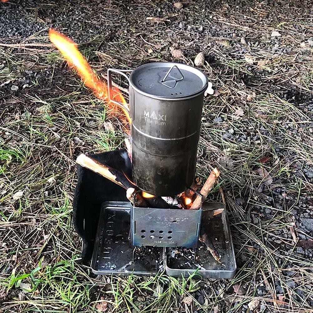 ファイヤーボックス ナノボックスセット ステンレス キャンプストーブ バーベキューコンロ FIREBOX Nano Stove SET Stainless Steel firebox-02