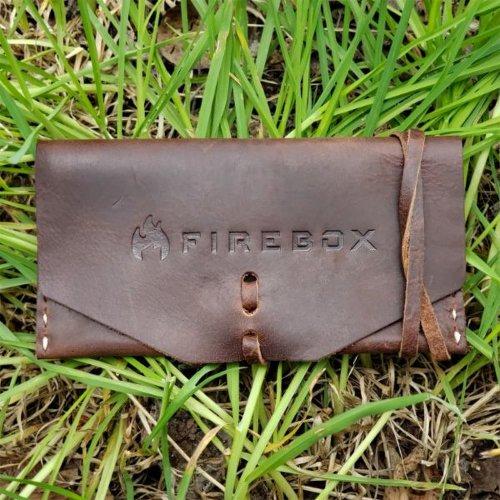 FIREBOX ファイヤーボックス Leather Nano Case レザーナノケース キャンプストーブ バーベキューコンロ