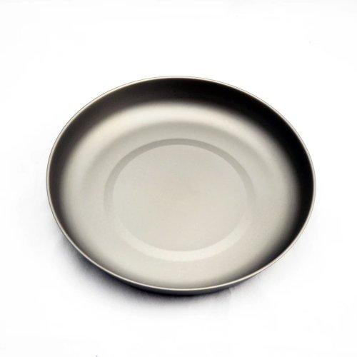 TOAKS トークス Titanium Plate D190mm チタニウム プレート190mm アウトドア食器 カトラリー