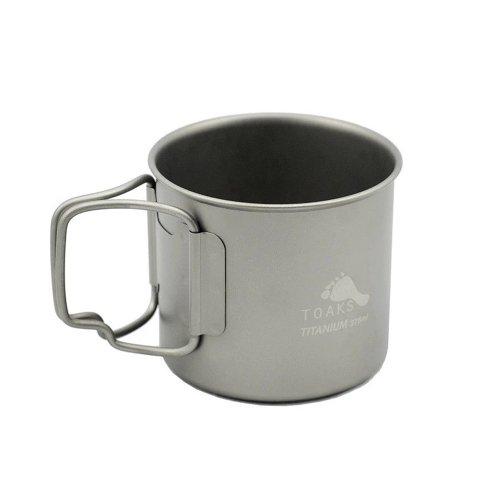 TOAKS トークス Titanium Cup 375ml チタニウム カップ375ml コップ アウトドア食器 カトラリー