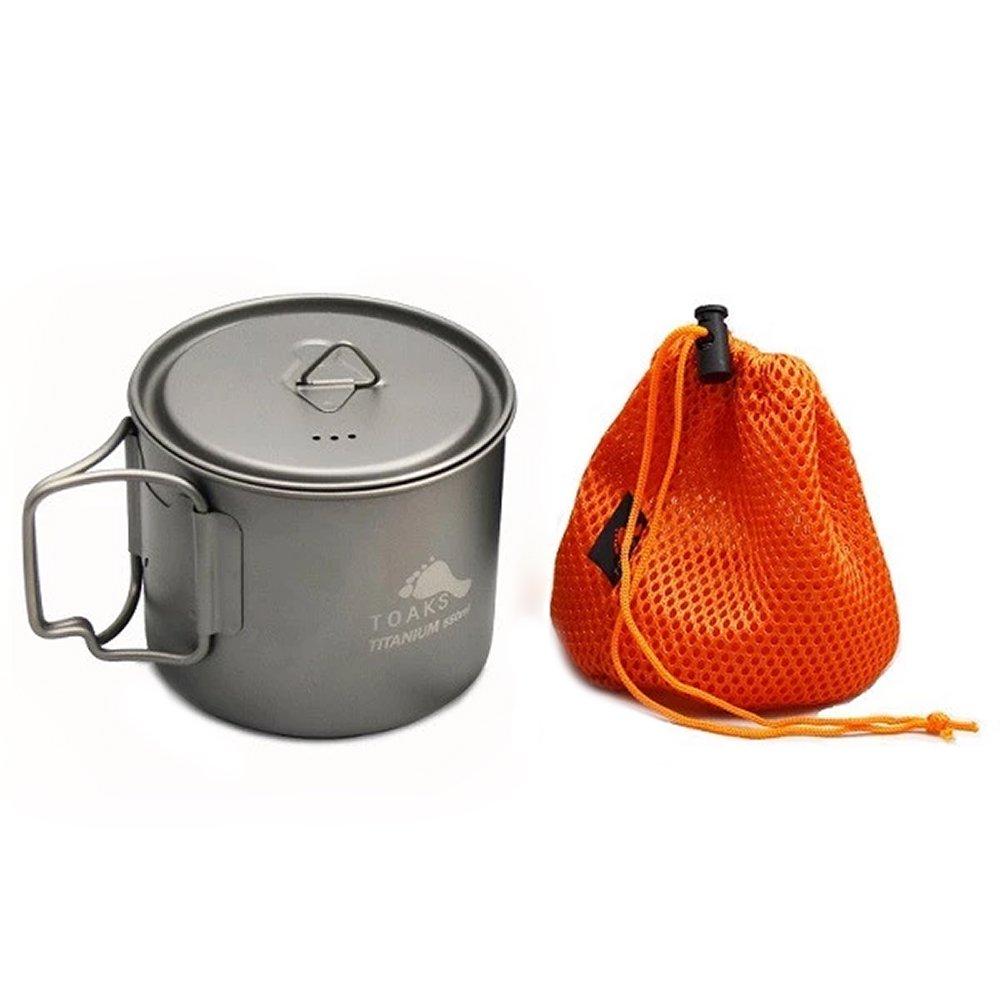 TOAKS トークス Titanium Light Pot 550ml ライトポット550ml アウトドア食器 カトラリー