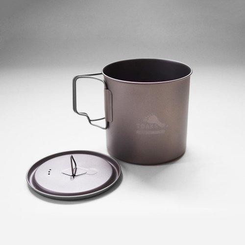 TOAKS トークス Titanium Light Pot 650ml ライトポット650ml アウトドア食器 カトラリー