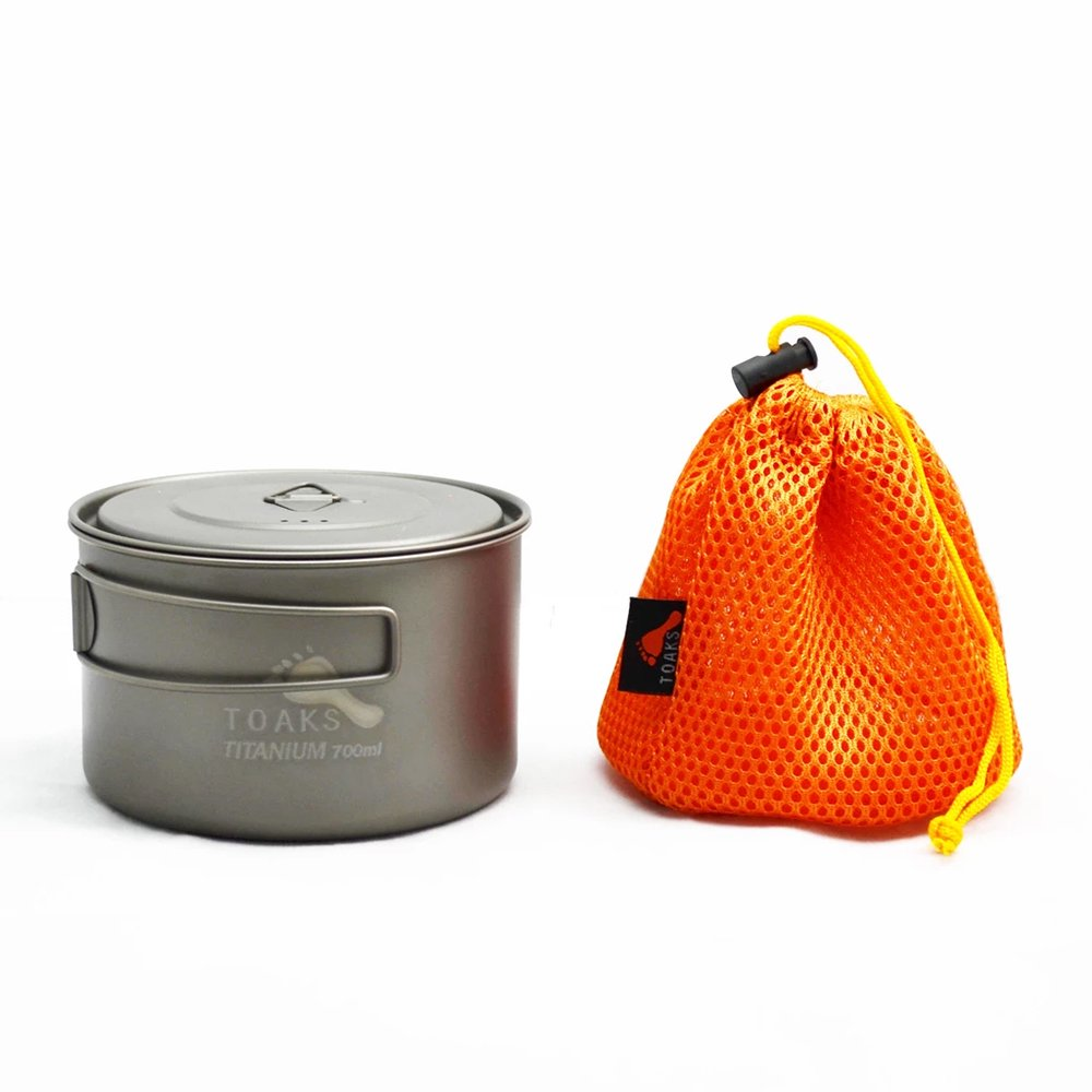 TOAKS トークス Titanium Light Pot 700ml ライトポット700ml アウトドア食器 カトラリー
