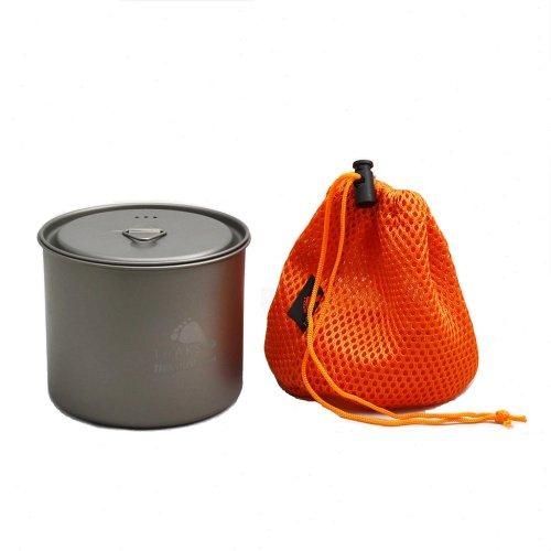 TOAKS トークス Titanium Pot 550ml without Handle チタニウム ポット ハンドルなし アウトドア食器 カトラリー