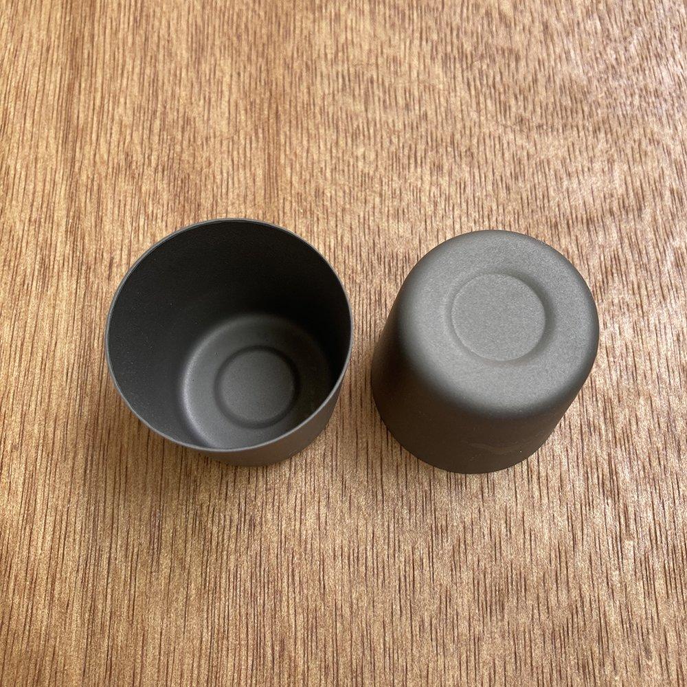 TOAKS トークス Titanium Shot Glass ショットグラス 2個セット アウトドア食器 カトラリー