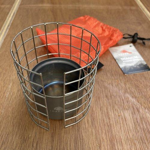 TOAKS トークス Stove Frame&Titanium stove set ステンレス製フレームとチタンストーブセット