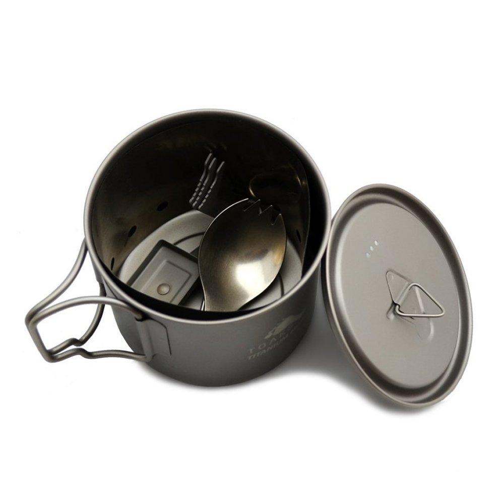 TOAKS トークス Titanium Ultralight Cook Set チタニウム ウルトラライトクックセット