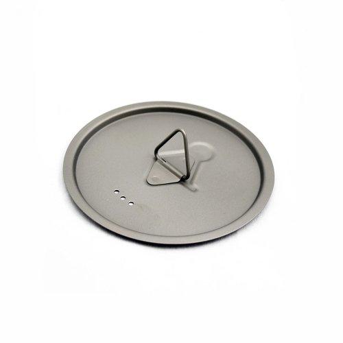 TOAKS トークス Titanium Lid D80mm チタニウム ふた アウトドア食器