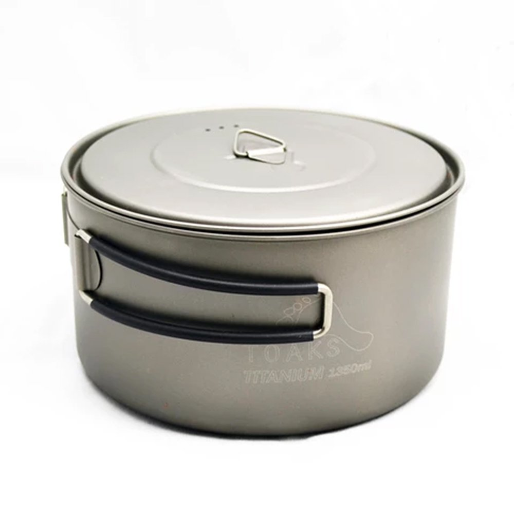 TOAKS トークス Titanium Lid D130mm チタニウム ふた アウトドア食器